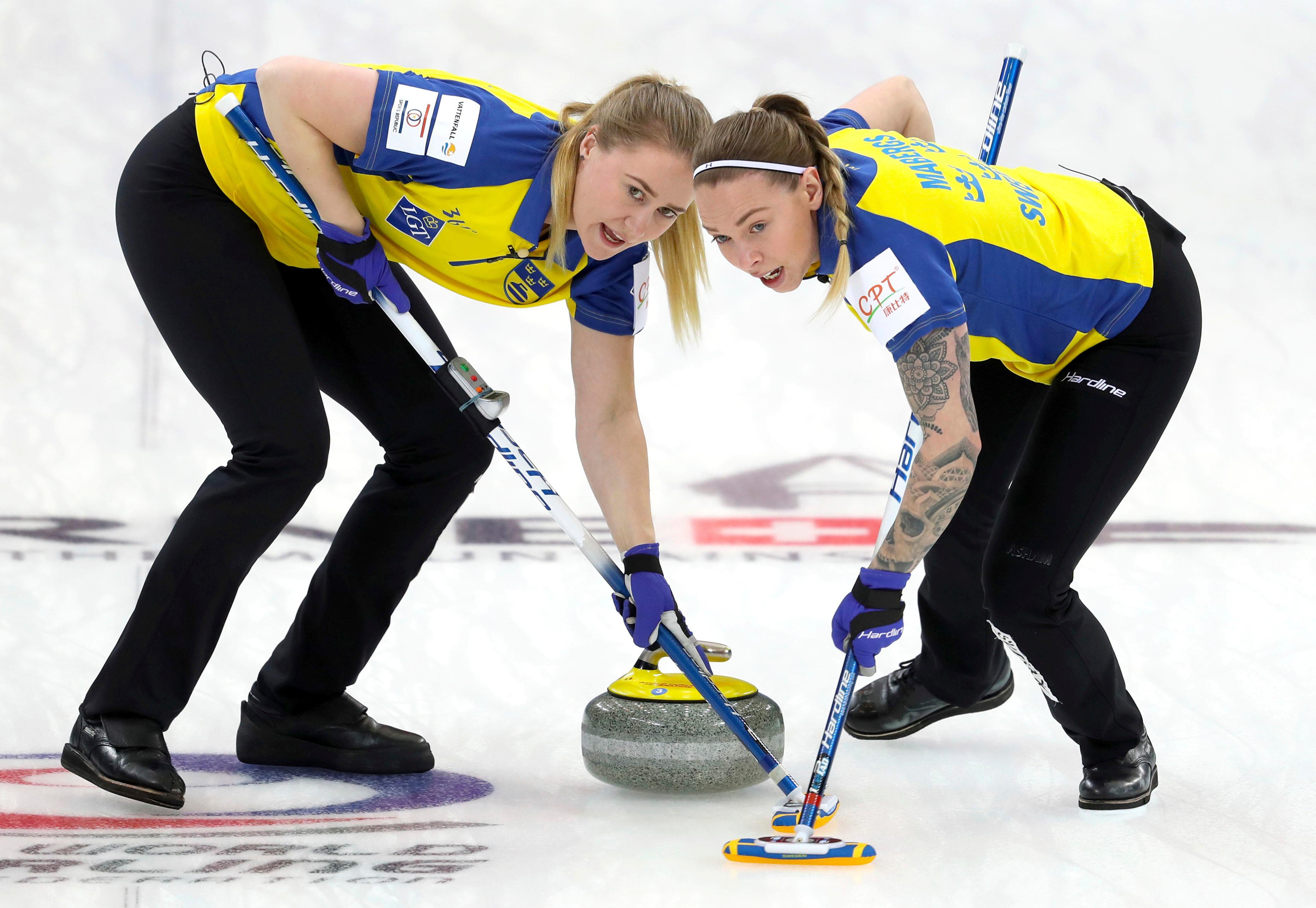 Svenska curlingdamerna klara for ny final